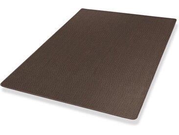 Dekowe Sisalteppich »Mara S2, gekettelt, Wunschmaß«, rechteckig, Höhe 5 mm, Obermaterial: 100% Sisal, Wohnzimmer, braun, mokka