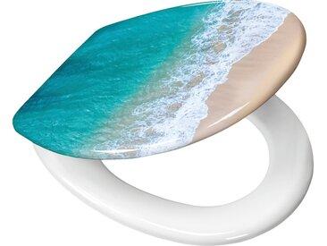Kleine Wolke WC-Sitz »Waikiki« (Komplett-Set), 37x 45 cm