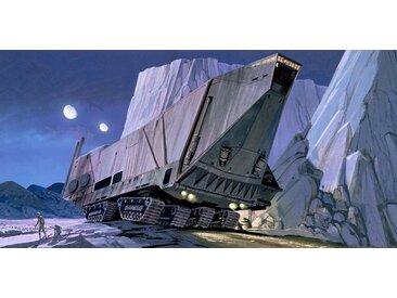 Komar Fototapete »Star Wars Classic RMQ Sandcrawler«, glatt, mehrfarbig, Weltall, futuristisch, (Packung)