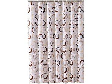 i@home Duschvorhang »Duschabtrennung Badvorhang Vorhang Badezimmer Vorhänge mehrere Stile« Breite 180 cm, Mit Ringe, Kreis