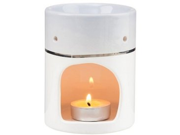 BUTLERS Duftlampe » AMBIANCE Aromalampe Duftwax«, grau, Grau