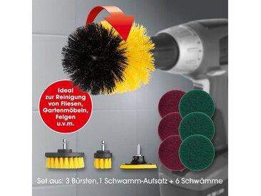 CLEANmaxx Bürstenaufsatz-Set für Bohrmaschine 10-tlg.
