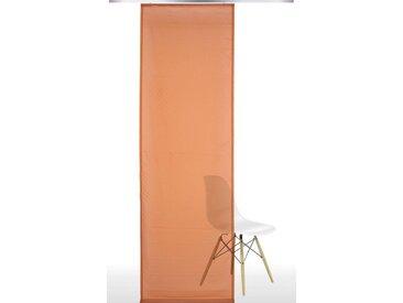 Liedeco Schiebegardine, Klettband (1 Stück), orange, terrakotta
