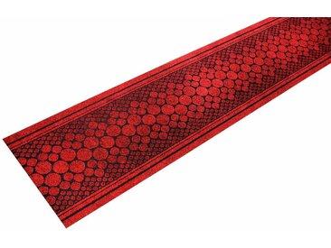 Living Line Läufer »Stone«, rechteckig, Höhe 7 mm, In- und Outdoor geeignet, Meterware, rot, rot