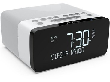 Pure Radio »Siesta Charge« Radiowecker (Digitalradio (DAB), DAB/DAB+ Digital- und UKW-Radiowecker, Bluetooth, USB, drahtlose Smartphone-Ladestation (Wireless Charging), 40 Senderspeicherplätze, AUX)