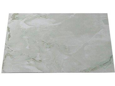 Vinylfliesen »PVC-Fliese«, 1,2 mm, 45 Fliesen, selbstklebend, natursteinoptik, selbstklebend, weiß, schiefer grau