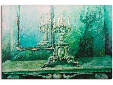 Artland Wandbild »Barocker Leuchter grün«, Innenarchitektur (1 Stück), Leinwandbild