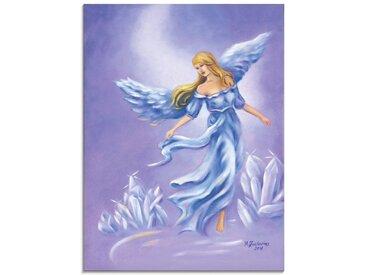 Artland Glasbild »Kristall Engel - Engelkunst«, klassische Fantasie (1 Stück)