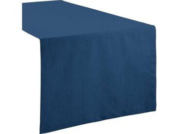 REDBEST Tischdecke, Uni, blau, dunkelblau
