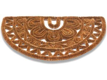 matches21 HOME & HOBBY Fußmatte »Kokos Fußmatten Kokosmatten Drahtgittermatten Ethno Muster 45x75 cm«, rechteckig, Höhe 60 mm