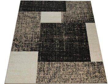 Paco Home Teppich »Sinai 072«, rechteckig, Höhe 13 mm, Kurzflor mit Karo Muster, braun, braun