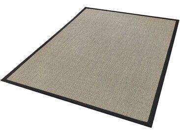Dekowe Sisalteppich »Brasil«, rechteckig, Höhe 10 mm, Obermaterial: 100% Sisal, Wunschmaß, schwarz, schwarz