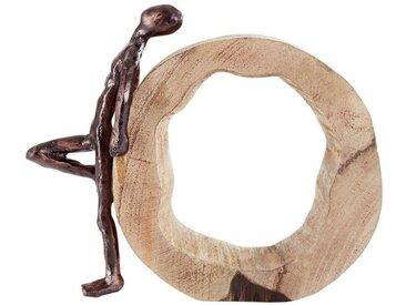 heine home Deko-Objekt aus massivem Holz