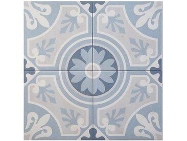 Casa Moro Fliesenaufkleber » Marokkanische Fliesen Ziad 20x20 cm 1 qm aus Feinsteinzeug, Bodenfliesen & Wandfliesen für schöne Küche Flur & Badezimmer