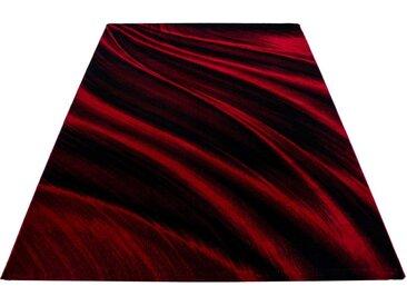 Ayyildiz Teppich »Miami 6630«, rechteckig, Höhe 12 mm, Kurzflor, rot, rot-schwarz