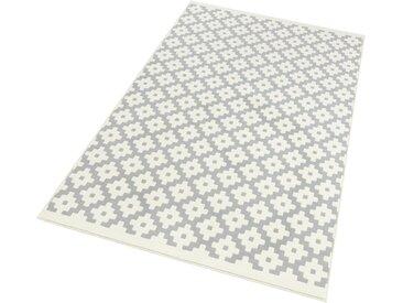 HANSE Home Teppich »Lattice«, rechteckig, Höhe 9 mm, Kurzflor, gekettelt, grau, grau