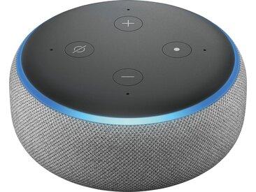 Echo Alexa Dot (3. Generation) Mono Smart Speaker (WLAN (WiFi), Bluetooth), grau, hellgrau