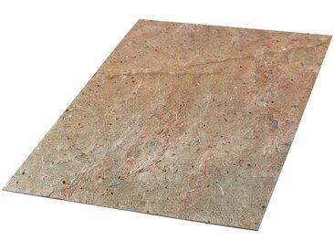Slate Lite SLATE LITE Dekorpaneele »Muster Sheet Cobre«, Musterset DIN A6 (39 Dekore), rot, rostfarben