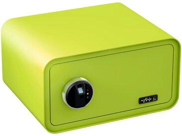 BASI Tresor »mySafe 430«, mit Fingerabdruck, grün, grün