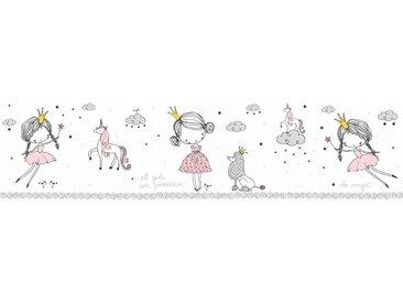 A.S. Création Bordüre »Magic Princess«, glatt, für Baby- und Kinderzimmer, selbstklebend, PVC-frei