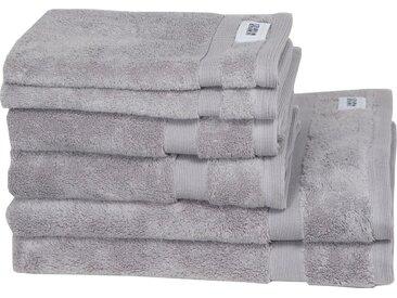SCHÖNER WOHNEN-Kollektion Handtuch Set »Cuddly Set« (Set, 6-tlg), in unterschiedlichen Farben, grau, 6 tlg., grau