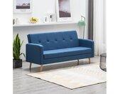 vidaXL Sofa » Sofabett Sofa Couch Schlafsofa Schlafcouch Gästebett mehrere Auswahl«, blau, Blau