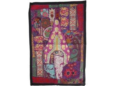 Guru-Shop Wandteppich »Indischer Wandteppich Patchwork..«, Höhe 65 mm, Muster 21