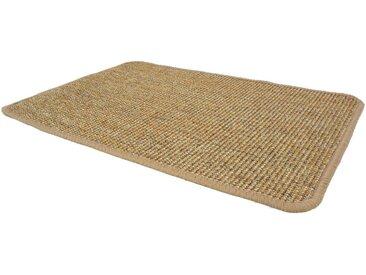 Primaflor-Ideen in Textil Sisalteppich »SISALLUX«, rechteckig, Höhe 6 mm, Obermaterial: 100% Sisal, Wohnzimmer, braun, nussbaum
