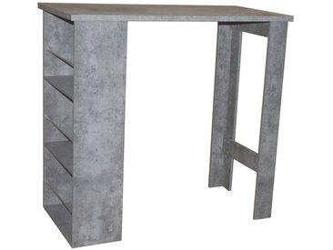 HTI-Line Bartisch Thekla »Wand«, grau, Beton