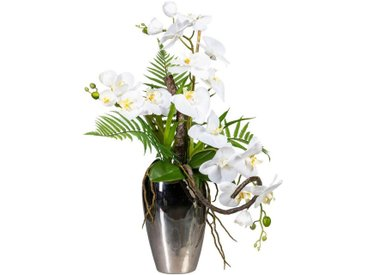 Creativ green Kunstpflanze Orchidee, Höhe 70 cm, Soft Touch