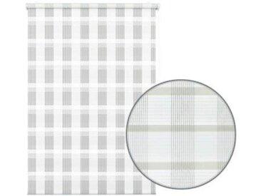 GARDINIA Seitenzugrollo »Mini Doppelrollo Karo«, Lichtschutz, ohne Bohren, freihängend