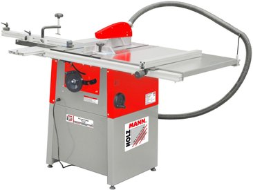 Holzmann HOLZMANN-MASCHINEN Tischkreissäge »TS250_400V«, 2200 W, 254 mm, rot, rot