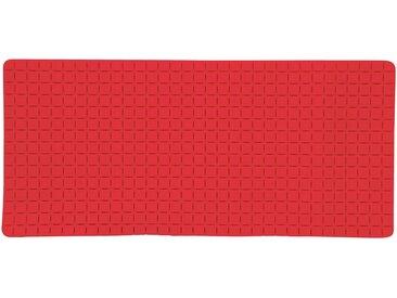 MSV Wanneneinlage »Quadro Premium«, B: 36 cm, L: 76 cm, rot, rot