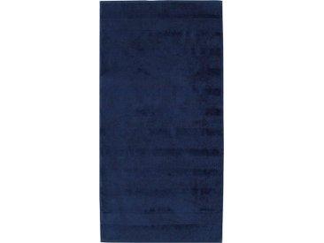 Cawö Badetuch »Noblesse²« (1-St), mit Kordelaufhänger, blau, navy
