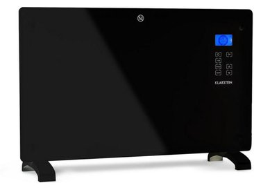 Klarstein Konvektions-Heizgerät Thermostat Timer 2000 W 30m² schwarz »Norderney 2000 B«, schwarz, schwarz