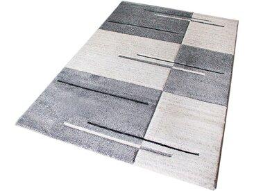 Sehrazat Teppich »Trend 7423«, rechteckig, Höhe 13 mm, Kurzflor, grau, grau