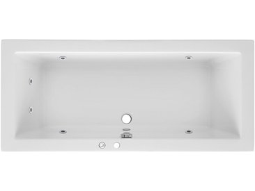 OTTOFOND Whirlpoolwanne »Cubic«, B/T/H in cm: 180/80/65,5; mit Whirlpool-System 1, 180 cm