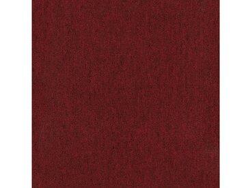Teppichfliese »Jersey«, quadratisch, Höhe 3 mm, selbstliegend, rot, 20 St., SL 200 rot