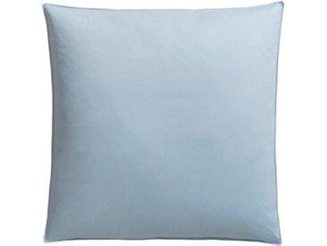 RIBECO Federkissen, »Leon«, Füllung: 90% Federn, 10% Daunen, (1-tlg), blau, saphirblau