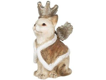 Clayre & Eef Tierfigur » Dekofigur Katze mit Flügeln 34*21*37«