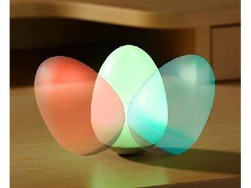 JOKA international Dekolicht »LED Leuchte Wooble Ei Nachtlicht Tischlicht Dekoration Stehaufmännchen Effekt«
