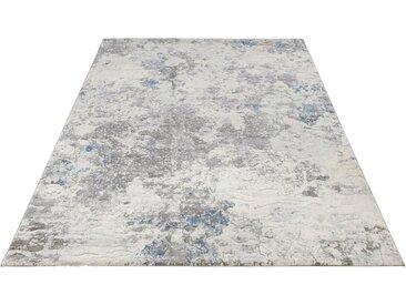 ELLE Decor Teppich »Fontaine«, rechteckig, Höhe 11 mm, Kurzflor in Marmor Optik, grau, grau-blau