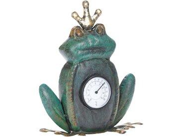 Schneider Gartenfigur »Frosch«, (1 St), Thermometer