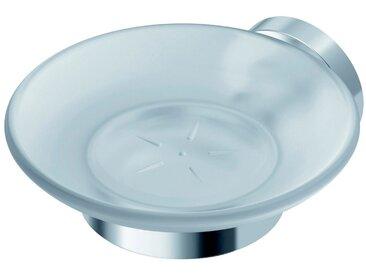 Ideal Standard Seifenschale »IOM«, Breite: 12,70 cm, Ø 11,40 cm, 3-St., aus satinierten Glas