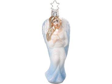INGE-GLAS® Christbaumschmuck »Himmlischer Bote, Engel« (1-tlg), mundgeblasen, handbemalt