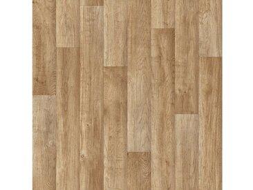 Andiamo Vinylboden »Act«, Breite 300 und 400 cm, Meterware, Stabparkett, braun, graubraun