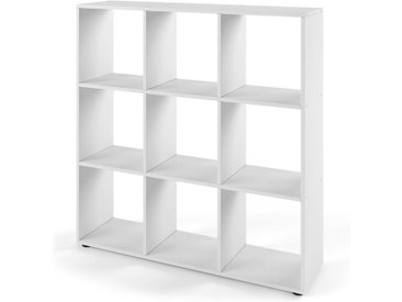 Vicco Raumteiler »NOVE 9 Fächer Farbe Weiß - Würfelregal Raumtrenner Standregal«