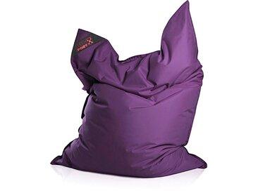 Magma Heimtex Sitzsack »Big Foot«, Indoor / Outdoor geeignet, lila, auberginefarben