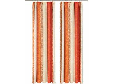 my home Vorhang »Gosen«, Kräuselband (2 Stück), orange, terra