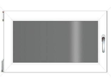 RORO Türen & Fenster RORO TÜREN & FENSTER Kunststoff-Fenster BxH: 100x75 cm, ohne Griff, weiß, links, weiß